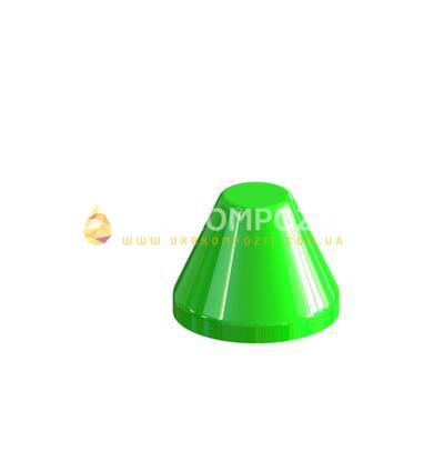 Cone decorative for support